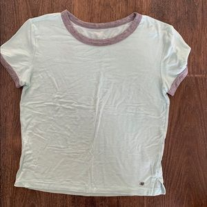 American Eagle Soft & Sexy Mint Tee